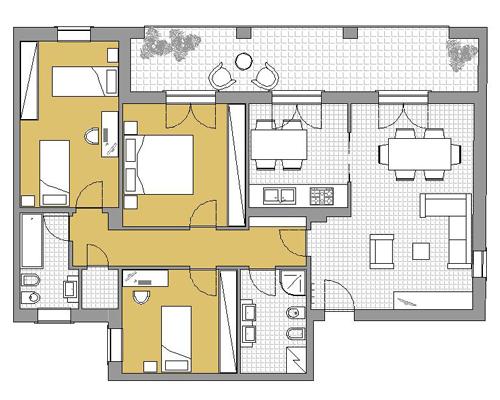 Procedure di vendita spim genova for Planimetria dell appartamento in vendita